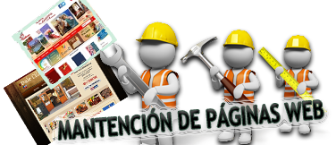Mantencion de Páginas Web